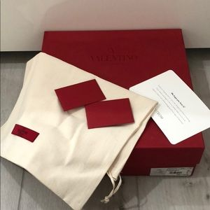 Valentino Boots Shoe Box w Dust Bag